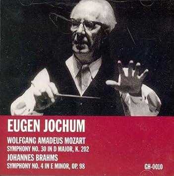 Mozart: Symphony No  30 in D major, K  202 and Brahms