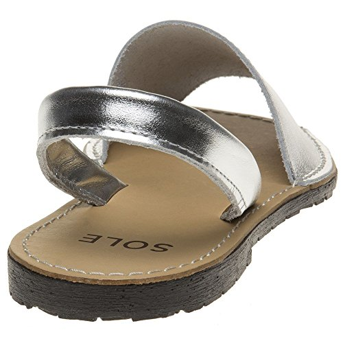 Sandals Sandals Metallic Silver Sole Silver Metallic Toucan Toucan Sole Metallic Sandals Sole Silver Sole Toucan qgw7xXZx