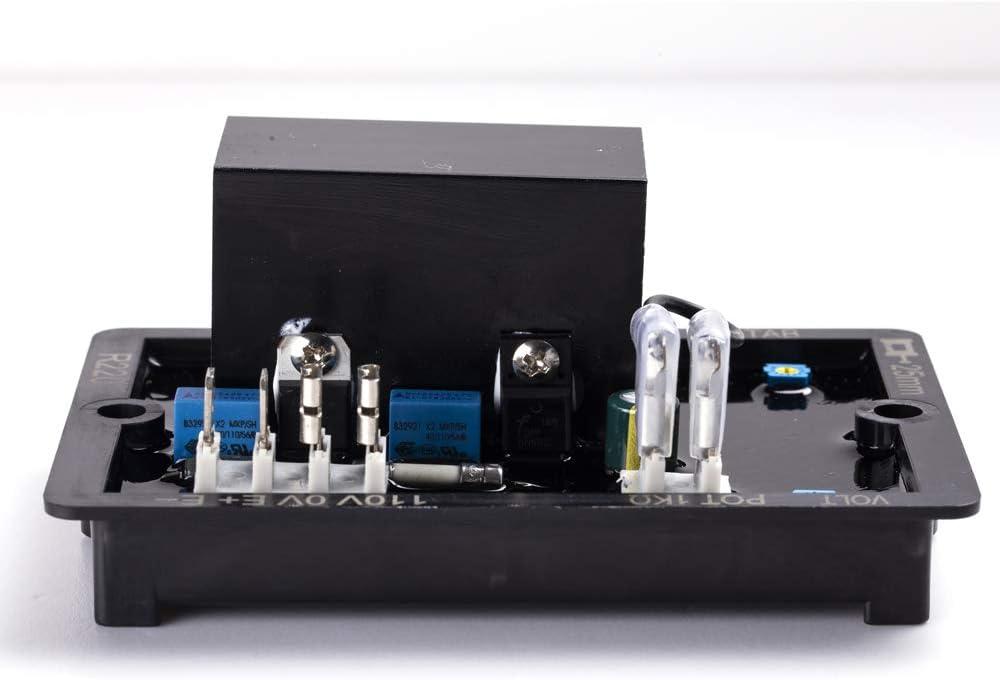 Knowtek AVR R220 Automatic Voltage Volt Regulator for Generator Alternator Genset