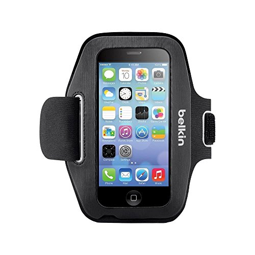 - Belkin Sport Fit Armband for iPhone 5/5S - Black (F8W367btC00-TG2)