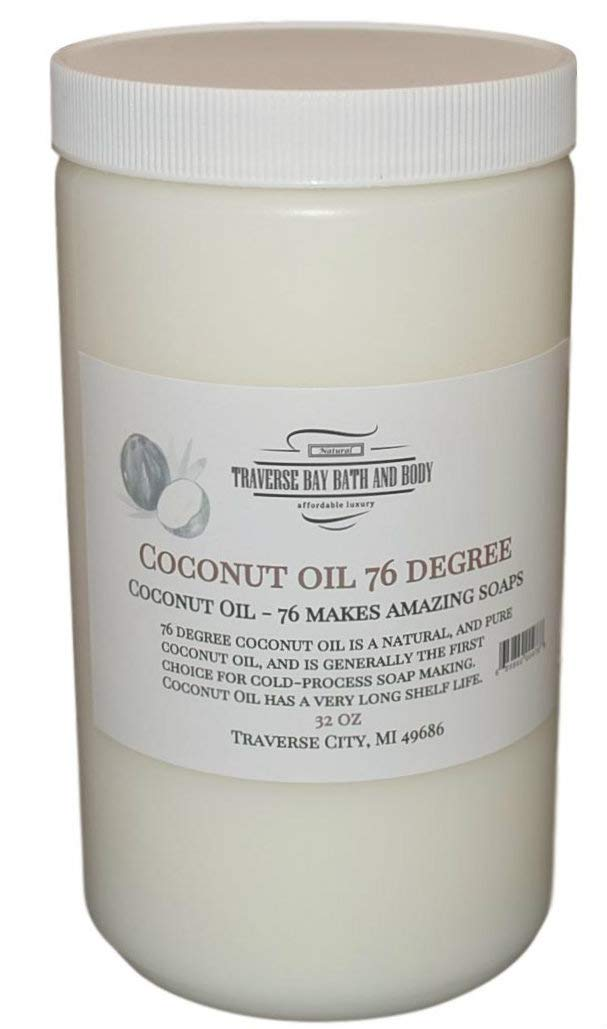Coconut Oil 76 Soap Making Supplies. 32 fl oz DIY Projects.