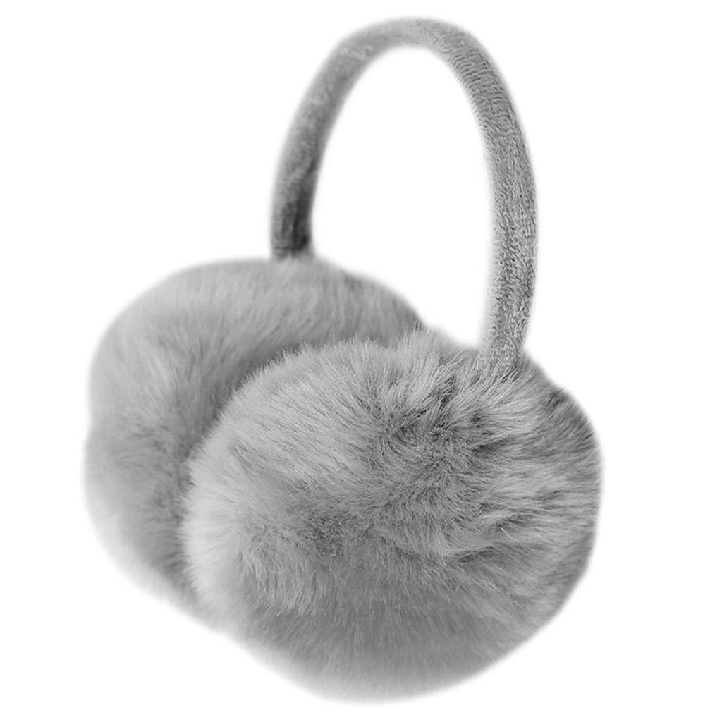 Warme Toll Geschenk F/ür Frauen JHFF M/ädchen Ohrensch/ützer Damen Ohrenw/ärmer Verstellbarer Winter Kuscheliger Earmuffs
