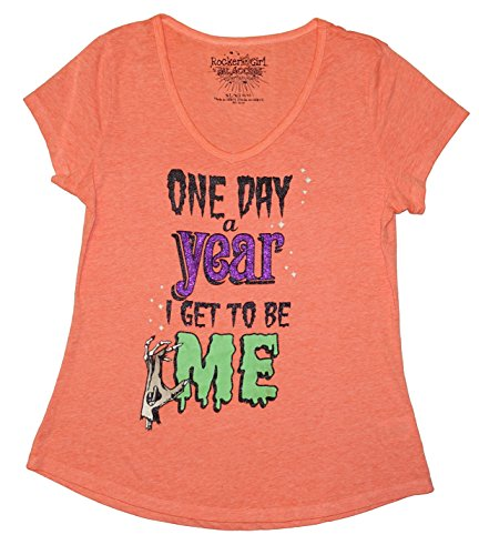 Halloween One Day A Year I Get To Be Me Graphic T-Shirt - X-Large