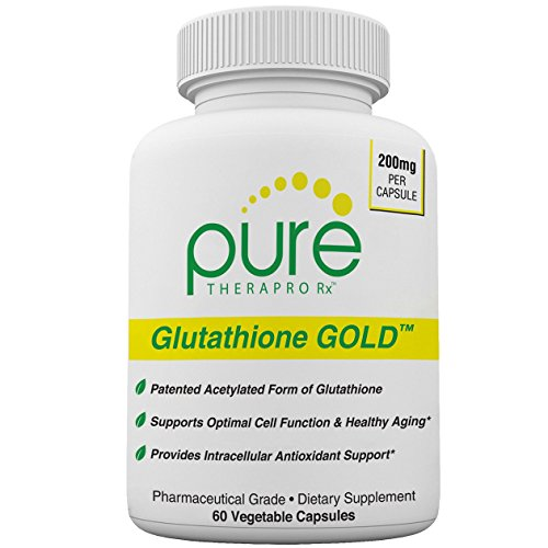 S-Acetyl Glutathione GOLD – 60 Vegetarian Capsules (Enteric Coated) | 200mg Per Capsule – 2 Month Supply | Patented Acetylated Glutathione (Emothion®) | Supports Antioxidant Activity | Free-of Harmful Stearates | Pharmaceutical Grade For Sale