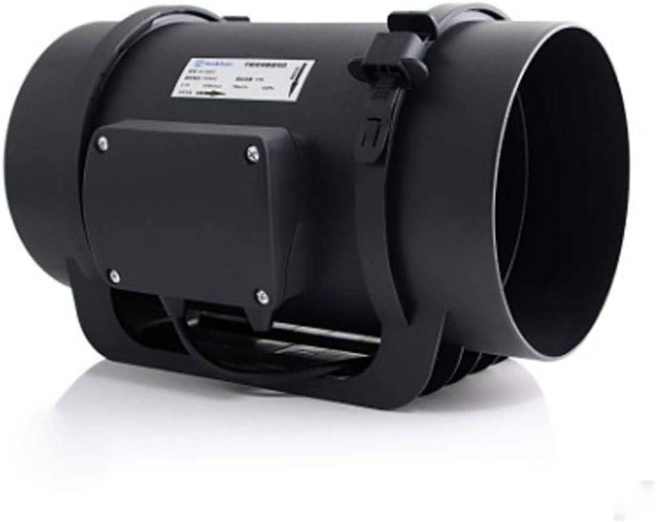 JEONSWOD Ventilador de conducto silencioso con Controlador de Velocidad: Extractor de ventilación para calefacción, Refuerzo de enfriamiento