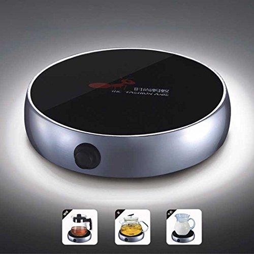[해외]휴대용 전동 탁상용 커피 따뜻한 커피 따뜻한 우유 컵 히터 컵 따뜻한 따뜻한 쟁반 (은색)/Portable Electric Desktop Coffee Warmer Tea Coffee Milk Heater Cup Mug Warmer Warming Trays (Silver)