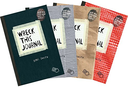Wreck This Journal (4 Volume Set) by Unknown