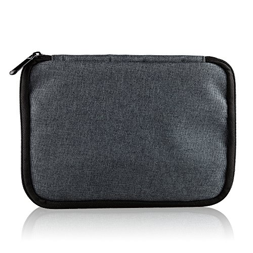 Thinkels-Tech Universal Double Layer Multifunctional Travel Gear Storage Carry Protection Zipper Pouch Organiser Case Bag for U disk Flash Drive SD Card Batter Earphone Cable Charger