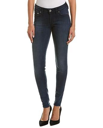 15d48100c48 True Religion Women s Curvy Skinny Fit Jeans w Crystal Embellishment in  Deepest Indigo (24