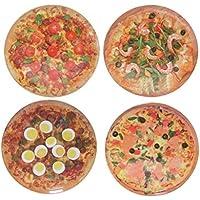 Set 4 Plato Pizza Pequ. 4 Mod. 20