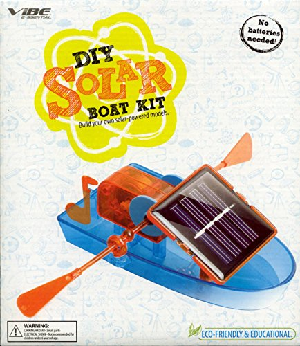 VIBE DIY SOLAR BUILD YOUR OWN SOLAR POWERED BOAT MODEL KIT by Vibe (Image #3)