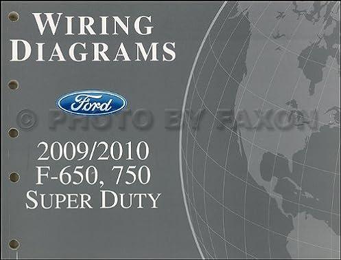 2009 2010 ford f650 f750 medium truck wiring diagram manual original Ford F5000