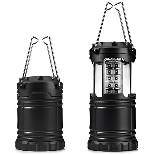 JHD 30 LED Ultra Bright Collapsible Camping Lights for Outdoor Hiking Backpacking((LIFE TIME GUARANTEE)