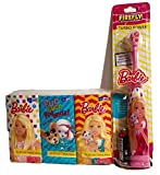 Facial Tissue Kleenex - Barbie Electric Toothbrush and 6-pack Pocket Sized Facial Tissue. 2-pc