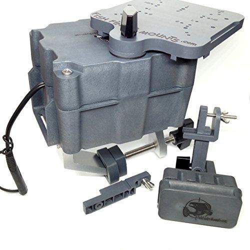 5ah 4.5 Magnetic Fish Finder Boat Mount Kit (Mount Portable Transducer)