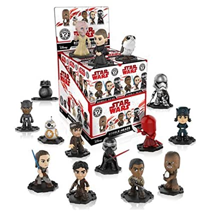 921a375c6f5 Amazon.com  Funko Mystery Mini  Star Wars The Last Jedi Bobble-Head Mini  Toy Action Figure - 2 Piece BUNDLE  Toys   Games