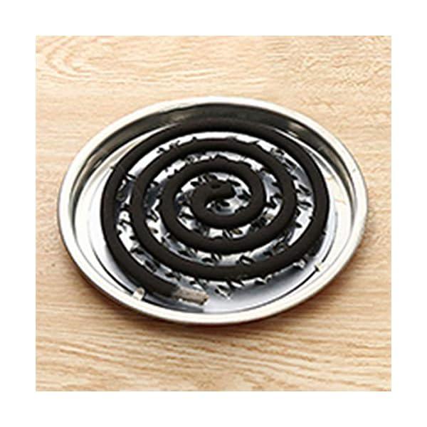 Garciayia Portabobina per bruciatore di incenso Scatola per lavandino Decorativo Porta zanzariera Acciaio (Colore… 2 spesavip