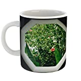 Westlake Art - Frame Plant - 11oz Coffee Cup Mug - Modern Picture Photography Artwork Home Office Birthday Gift - 11 Ounce (ABBC-013FE)