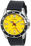Seiko Men's PS9107 Pulsar Yellow Dial Watch, Watch Central
