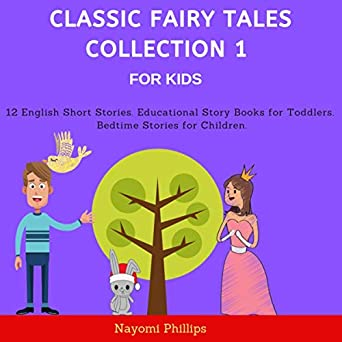 Amazon com: Classic Fairy Tales Collection 1 for Kids: 12 English