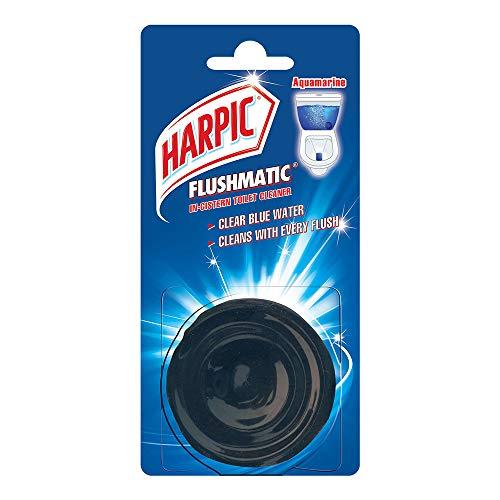 Harpic Flushmatic In-Cistern Toilet Cleaner Blocks, Aquamarine – 100 g