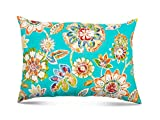 R & F Marketing Stratford Home 12x20 Indoor/Outdoor Decorative Lumbar Pillows, Daelyn Opal