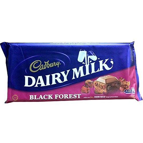 Cadbury Black Forest 220g (Big Bar) (Pack of 4) (Chocolate Black Forest Cake)