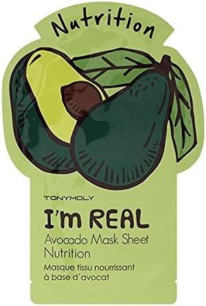 Tony Molyâ® - Mascarilla i am real de avocado tony moly: Amazon.es: Belleza