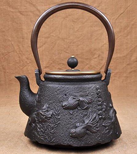 鉄器 急須 伝統工芸 手作り 鉄分補給 鉄瓶 DMT015