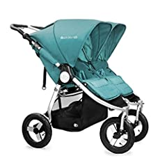 Description: You've got double the fun. Indie Twin (2016 model), the versatile all terrain double stroller is here to make your life a little easier to get out and do what you love. Bumbleride's narrow side by side design provides a smooth on...