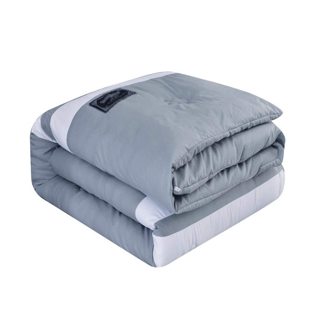 ストライプティーンキルト、暖かい学生寮の部屋を保つ暖かいキルトを保つダブル人々キルトを運ぶために多機能ベッドルーム (サイズ さいず : 200*230cm-2.5kg) B07L56M3CG  200*230cm-2.5kg