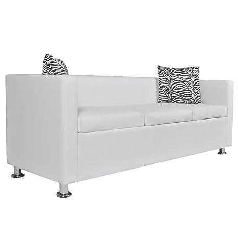 Luckyfu questo sofá Blanco 3 plazas y 2 plazas.Questo sofá ...