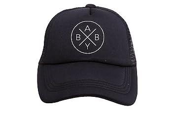 Amazon.com  Tiny Trucker Co. Baby X Trucker Hat  Baby 0bcf9a32e5e