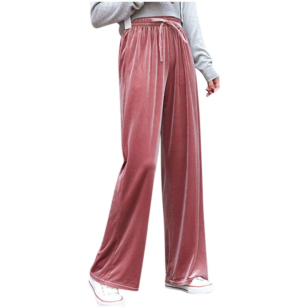 Pantalones Mujer Chandal Anchos Primavera LuckyGirls 2020 Chic ...