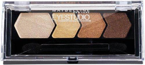 Maybelline New York Eye Studio Color fard à paupières de la soie en peluche, donnez-moi 05 d'or, 0,09 once