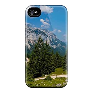 Saraumes Fashion Protective Astounding Scenery Case Cover For Iphone 4/4s