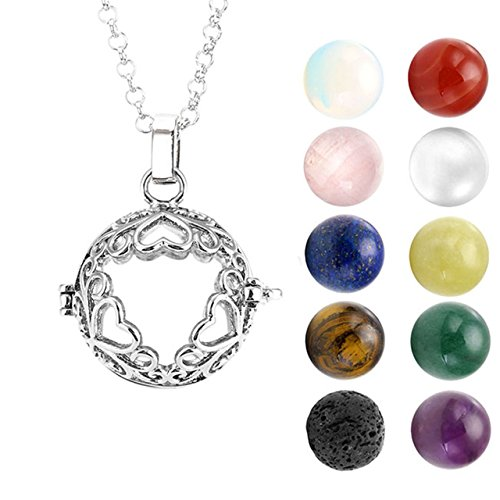 Necklace Natural Gemtones Healing Crystal