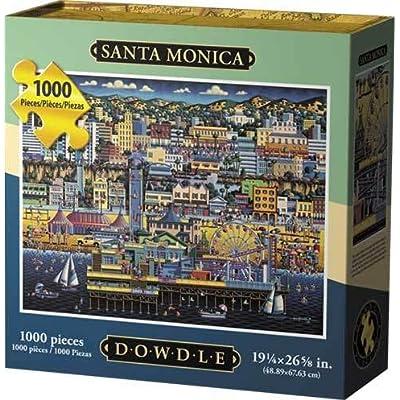 Dowdle Santa Monica 1000 Piece Puzzle: Toys & Games