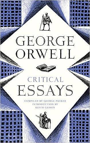 amazoncom critical essays  george orwell books