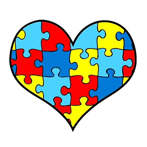 Autism Awareness Puzzle Temporary Tattoos product image