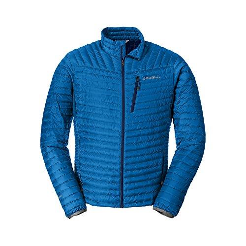 Eddie Bauer Men's MicroTherm StormDown Jacket, Ascent Blu...