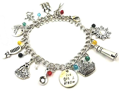 Disney Jewelry For Adults (Holiday Jewelry Gifts For Disney Lovers (Tangled Charm Bracelet))
