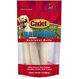 Cadet Rawhide Retriever Rolls Dog Chews, 4 Count