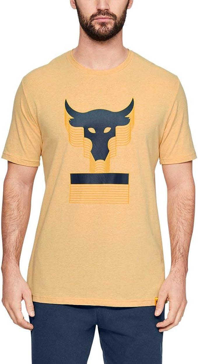 estómago Haz todo con mi poder Pasivo  Under Armour Men's Project Rock Above The Bar Short Sleeve T-Shirt: Amazon.de:  Bekleidung