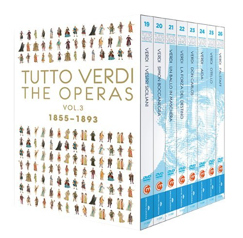 Tutto Verdi Operas, Vol. 3  (1855 - 18930 by C Major Entertainment