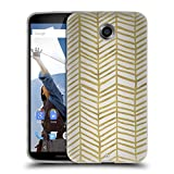 Official Cat Coquillette Herring Bone Gold Patterns 4 Soft Gel Case for Motorola Moto G (3rd Gen)
