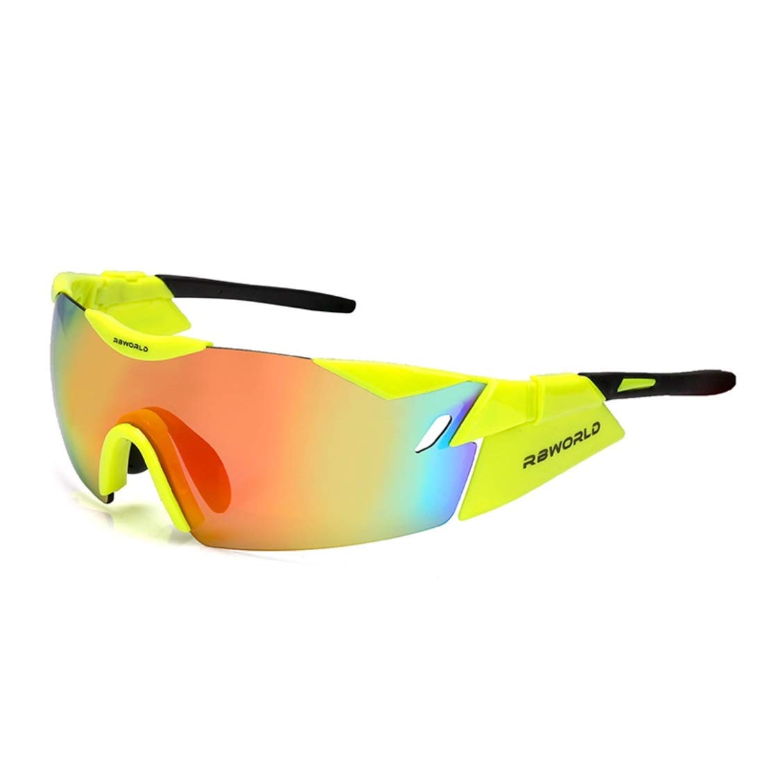 BAOYIT Riding Glasses Windproof Ultra Light Sports Sunglasses Cycling Glasses Outdoor Sports UV Protection Bike Windproof Sand (Color : D) by BAOYIT