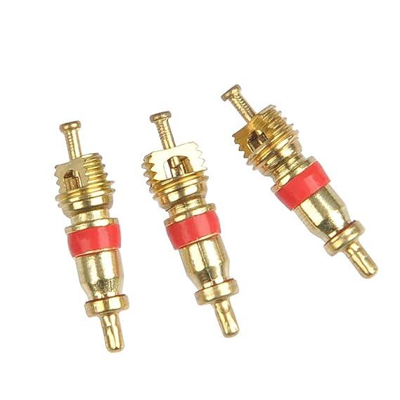 YANSHON 32pz Removedor de válvula - Eje de llave acero para válvulas, Válvula neumática de núcleo, Herramienta de reparación acero 4-1, Desenrosque las ...