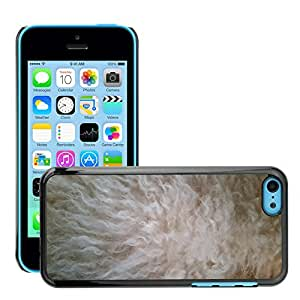 Hot Style Cell Phone PC Hard Case Cover // M00151866 Fur Dog Hair White Texture Pet // Apple iPhone 5C