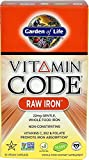 Garden of Life Vitamin Code Raw Iron, 30 Capsules (2 Pack) For Sale